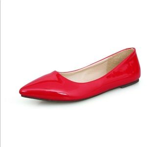 ❤️Guess By Marciano Red Pointed Flats❤️